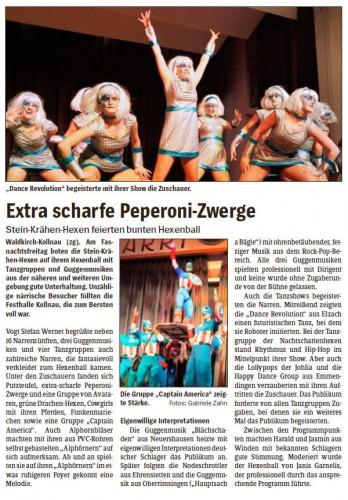 Pressebericht des Elztäler Wochenberichts vom 10.03.2011