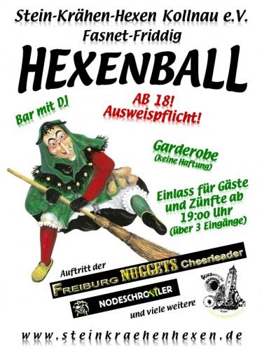 Plakat Hexenball 2012