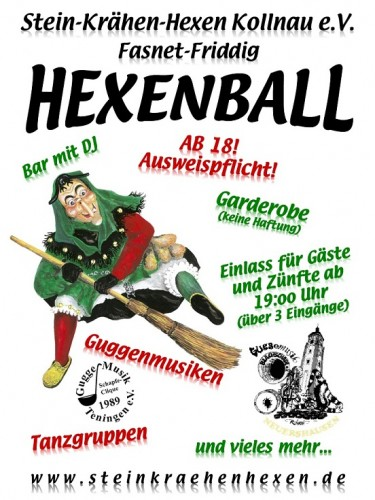 Plakat Hexenball 2013