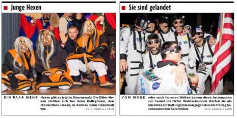 Fotos aus der Badischen Zeitung vom 12.02.2013