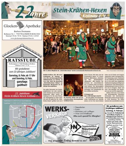 Vorbericht des Elztäler Wochenberichts vom 06.02.2014 (Seite1)