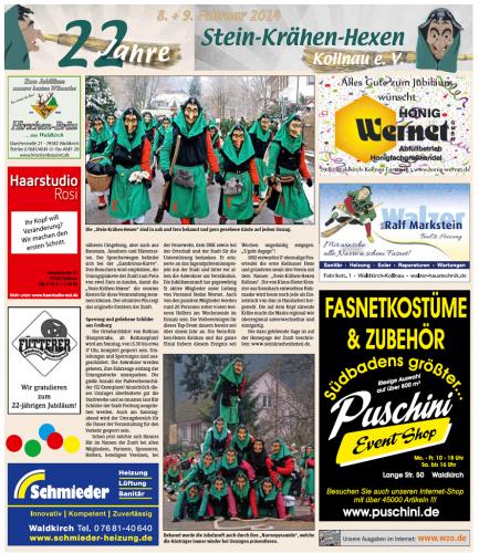 Vorbericht des Elztäler Wochenberichts vom 06.02.2014 (Seite2)