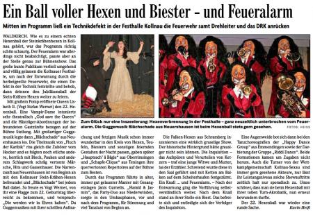 Pressebericht der Badischen Zeitung vom 03.03.2014