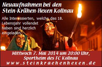 Mitgliederversammlung am 07.05.2014 mit Neuaufnahmen